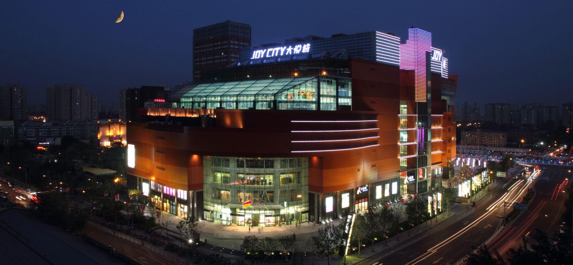 从2007年首个大悦城项目
