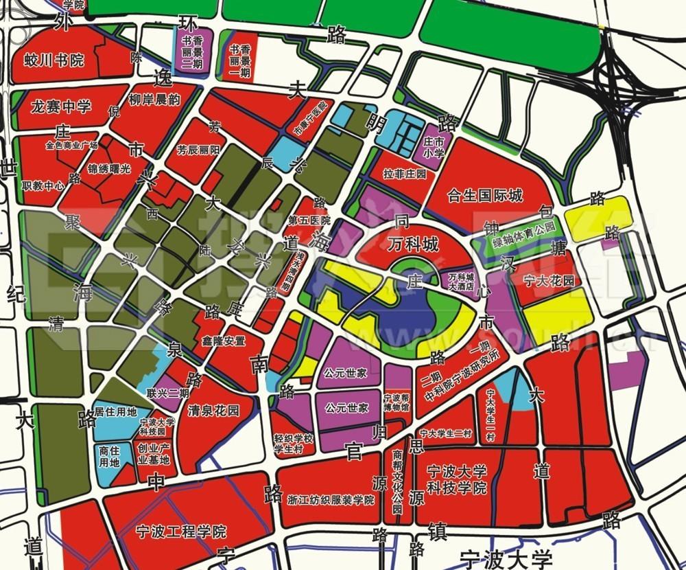 【今日公告】镇海新城南区同心路3幅地块出让,总面积约274亩