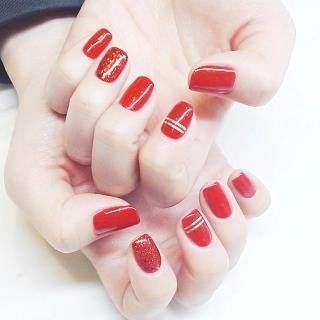 没做过红色美甲,都不知道自己的指尖可以这么美!