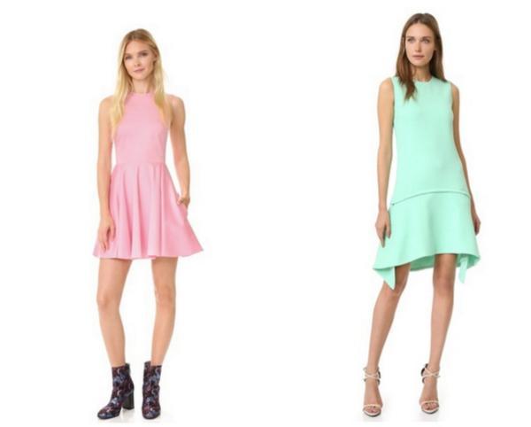 每一个女神,都有适合自己风格的连衣裙