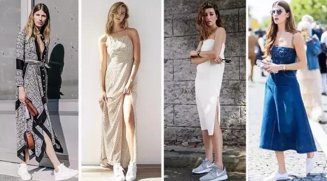 裙子+运动鞋,才是2017夏季最潮搭配!