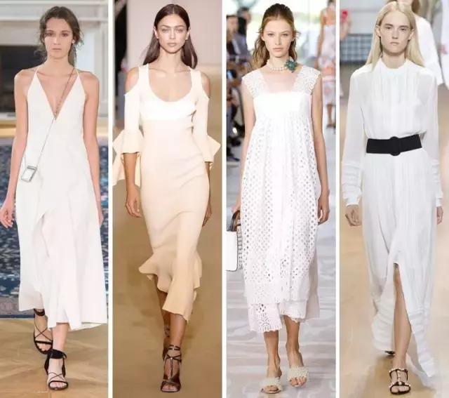 小黑裙OUT,这个夏天我只爱小白裙!