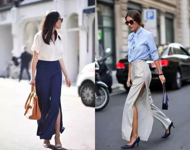 这些阔腿裤比裙子更适合夏天丨穿搭法则
