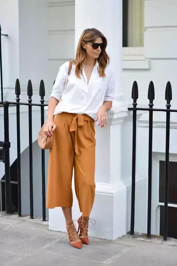 别乱穿阔腿裤了!今年夏天这4款才最时髦!