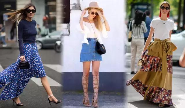 各种身型选裙指南|个子矮穿了显高,S型穿对更性感
