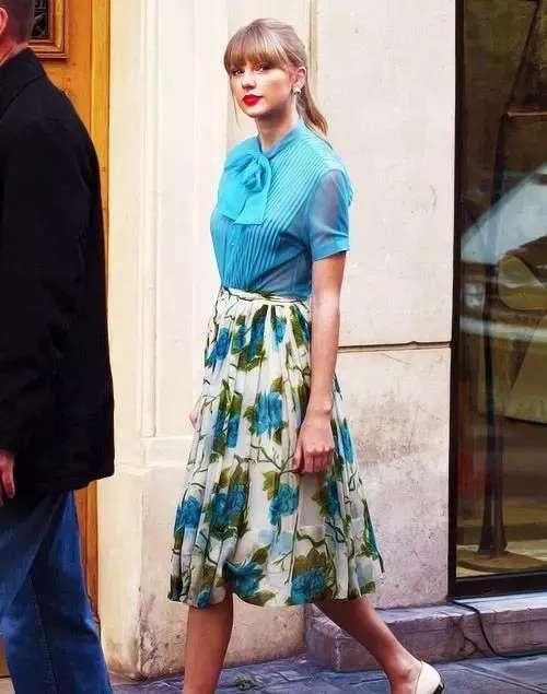 一条百搭好驾驭的迷笛裙,让你看上去瘦10斤!